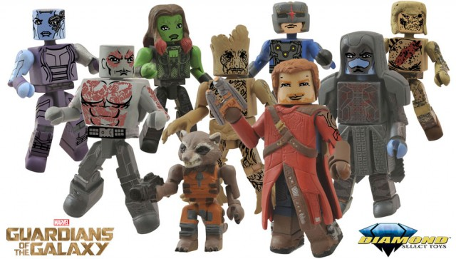 Guardians of the Galaxy Minimates Diamond Select Toys