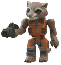 Guardians of the Galaxy Rocket Raccoon Minimates Figure