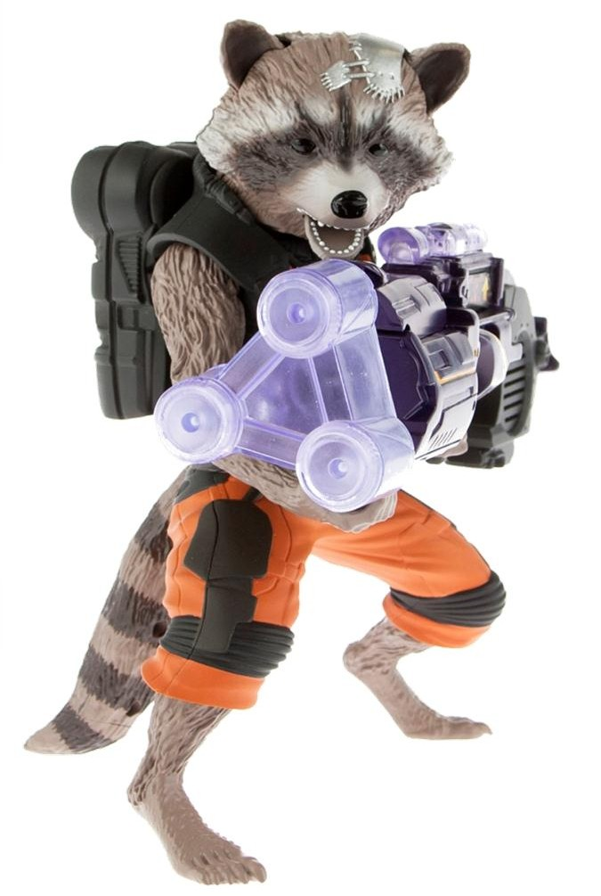 Hasbro Guardians of the Galaxy Big Blastin' Rocket Raccoon ...