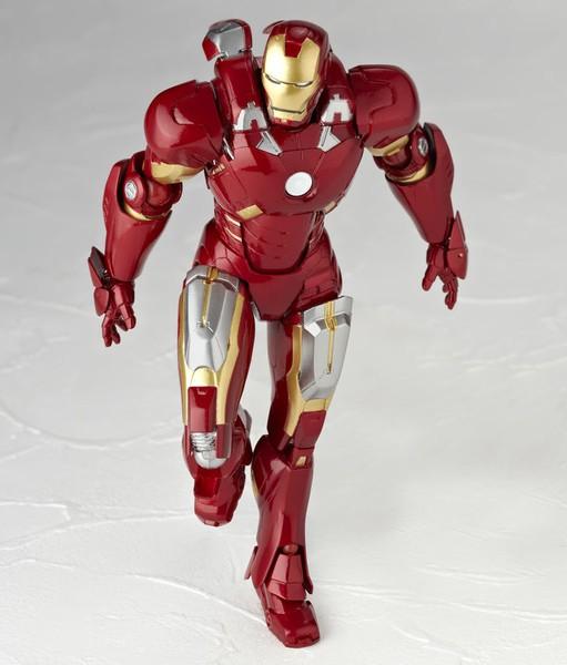 Figma Iron Man Mark Vii Iron Man Revoltech Mark Vii
