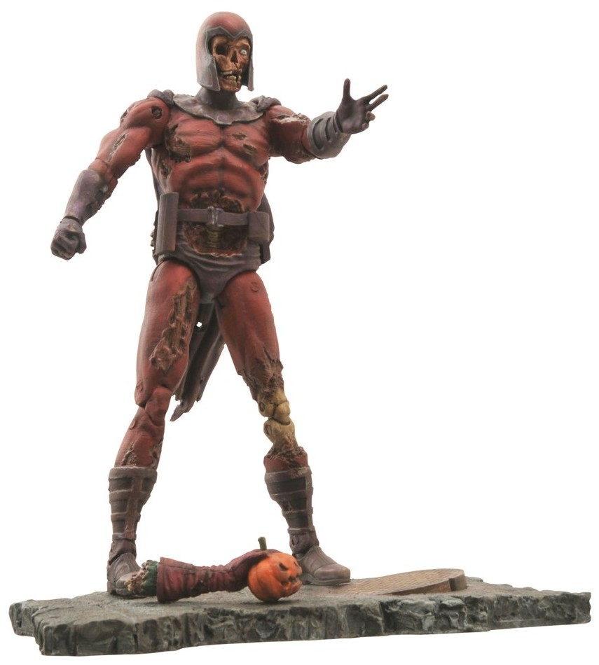 marvel select zombie magneto figure announced photo marvel toy news. Black Bedroom Furniture Sets. Home Design Ideas
