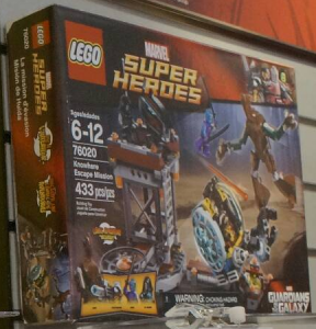 New York Toy Fair 2014 LEGO Guardians of the Galaxy Knowhere Escape Mission 76020