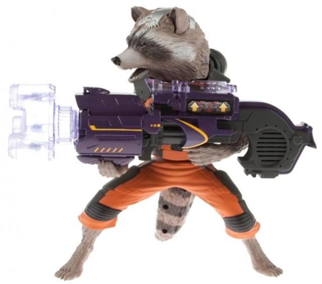 Rocket Raccoon Big Blasting Figure Hasbro 2014