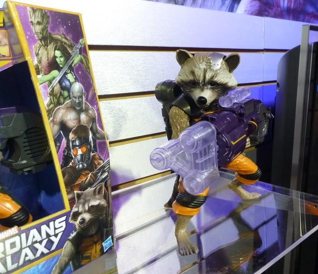 Rocket Raccoon Hasbro Action Figure Big Blasting Guardians of the Galaxy Movie