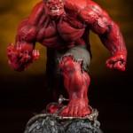 Sideshow Red Hulk Premium Format Statue Photos & Order Info!