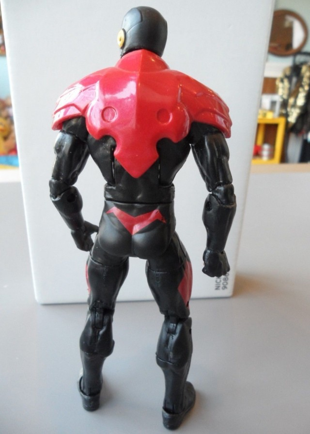 Wolverine Legends Phoenix Five Cyclops Action Figure Prototype Back