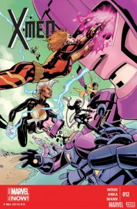 X-Men #12 Cover March 2014 Issue Brian Wood