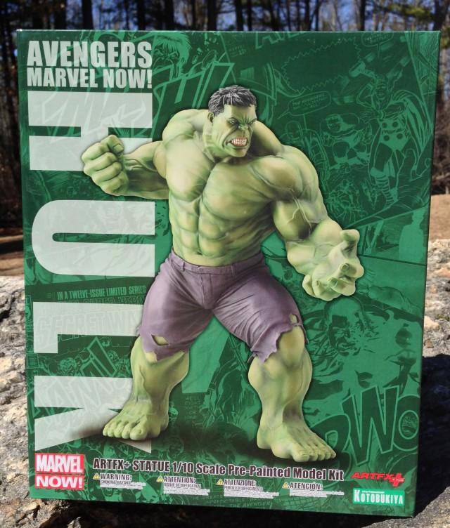 Avengers Marvel Now Kotobukiya Hulk Statue Box