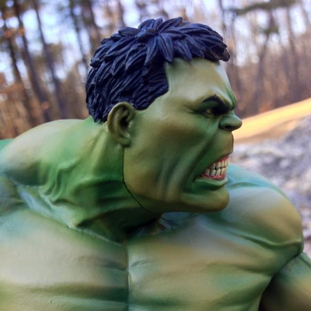 Kotobukiya Hulk Neck Seam Close-Up