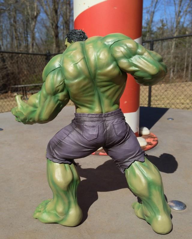 Kotobukiya Marvel NOW! Hulk Statue Back