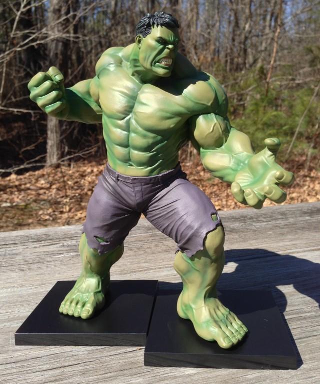 Hulk Kotobukiya Avengers ArtFX Statue on Magnetic Bases