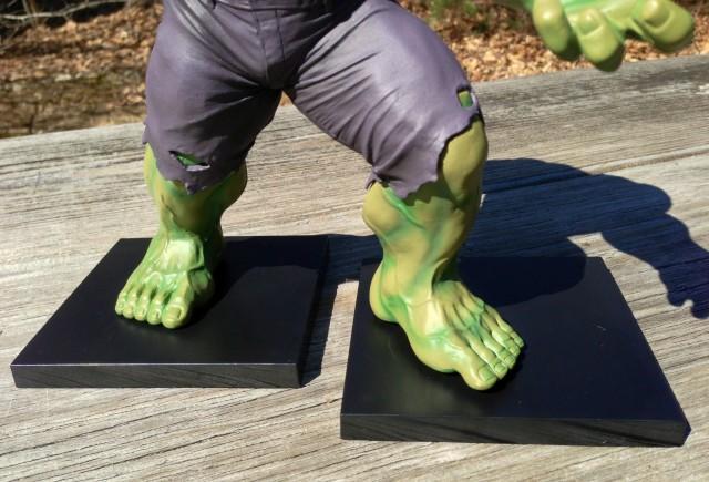 Kotobukiya Hulk 1/10 Statue Black Magnetic Base Pieces