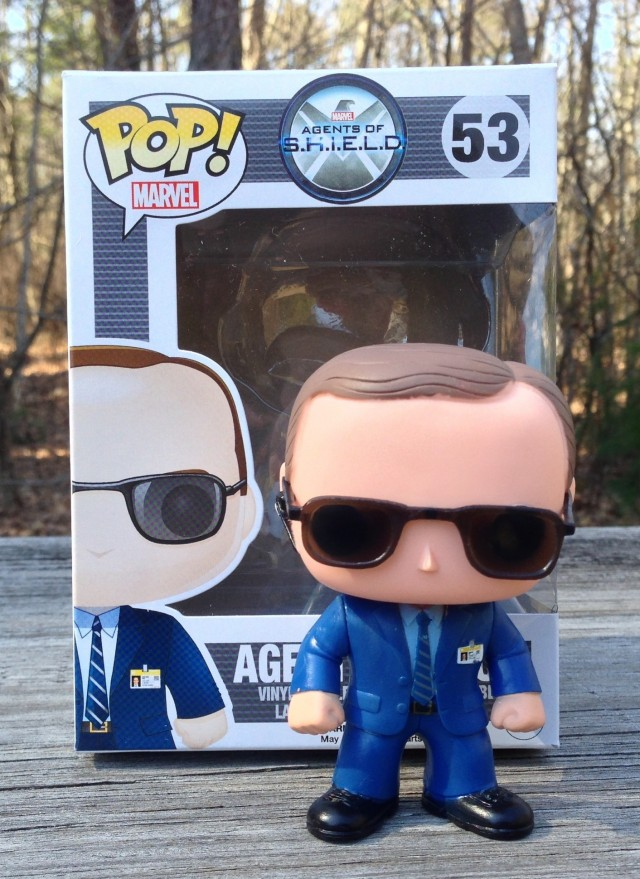 Agent Coulson Funko POP Vinyls Figure & Box