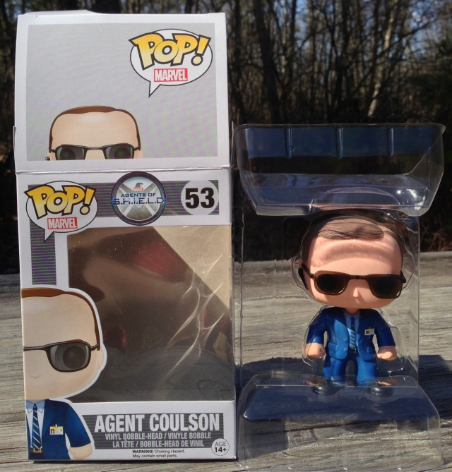 Marvel Funko POP Vinyls Agent Phil Coulson Packaging