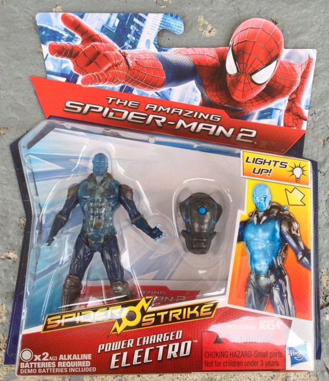 Amazing Spider-Man 2 Power Charged Electro Figure Packaged