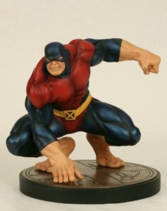 Bowen Designs Classic Beast Statue Red and Blue Costume