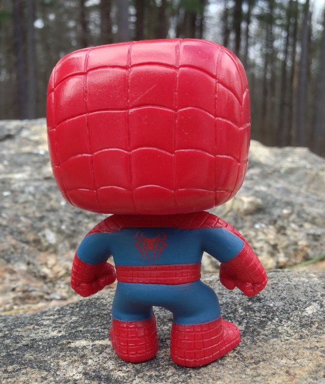 Amazing Spider-Man 2 POP! Vinyl Figure Back