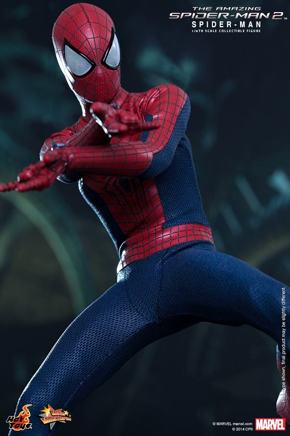 New Spider Man 2 Toys : Hot toys amazing spider man figure photos order