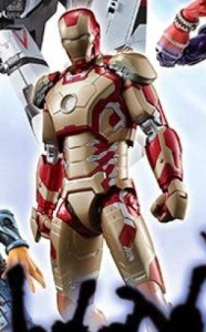 Bandai S.H. Figuarts Iron Man Mark XLII 42 Figure from Iron Man 3 Movie