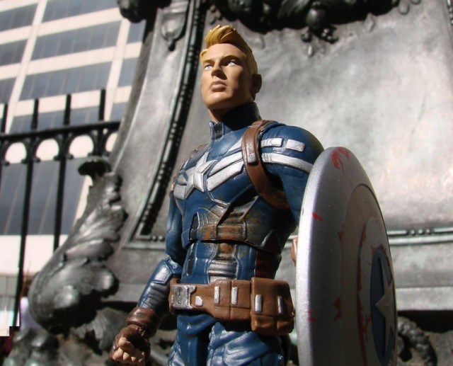 Captain America Unmasked Marvel Select Exclusive Action Figure Diamond Select Toys