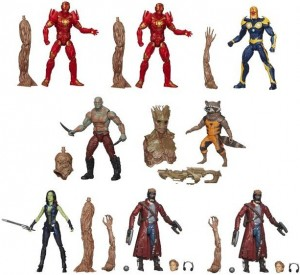 Guardians of the Galaxy Marvel Legends Case Ratios