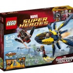 Summer 2014 LEGO Marvel Starblaster Showdown Set Photos