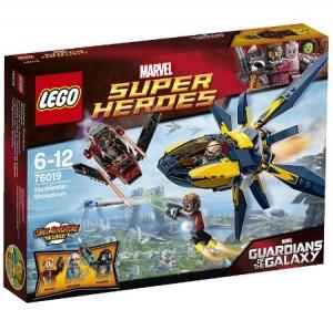 LEGO Guardians of the Galaxy Starblaster Showdown 76019 Box
