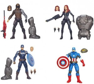 Marvel Legends Captain America The Winter Soldier Black Widow Figures 2014