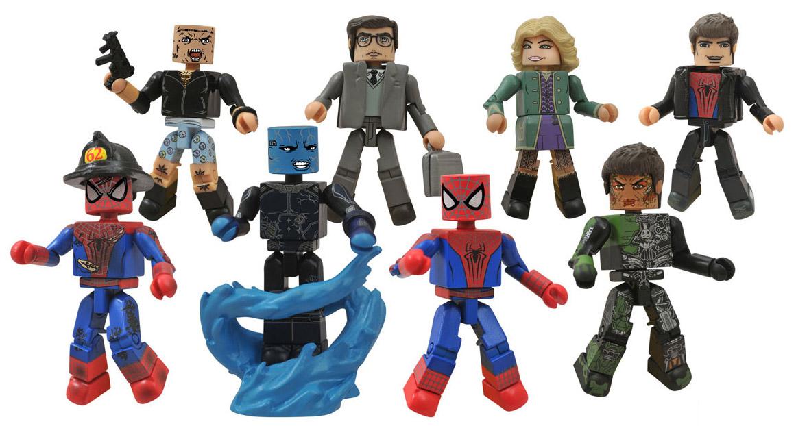 New Spider Man 2 Toys : Amazing spider man minimates revealed pre order