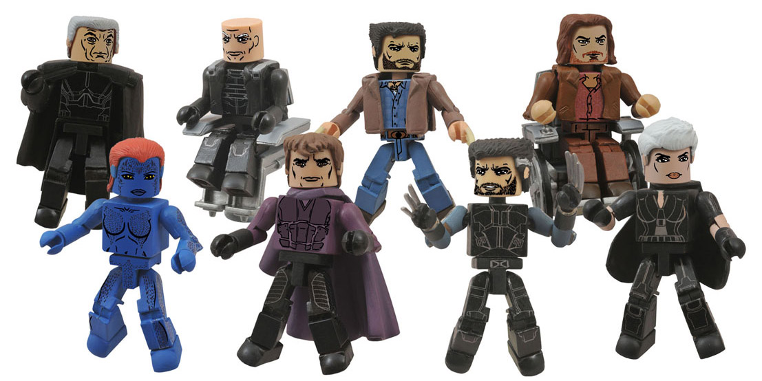 X Men Days Of Future Past Action Figures X-Men Days of Future P...