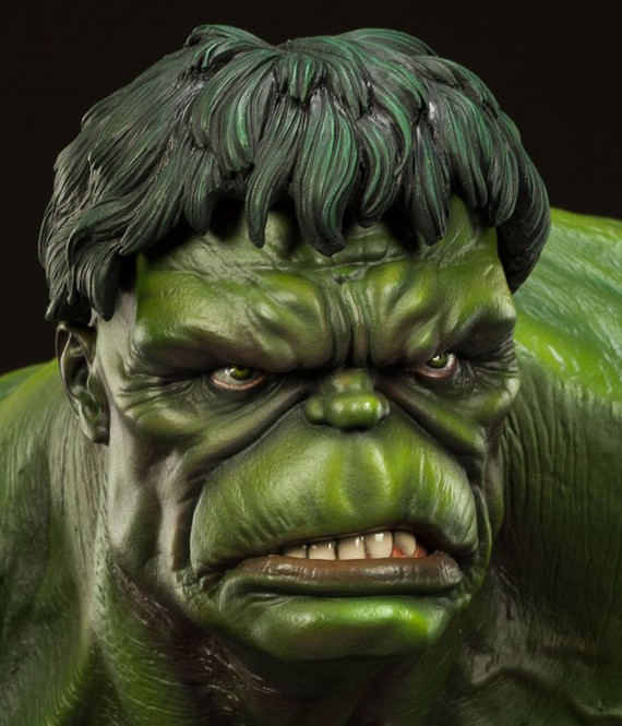 Sideshow Green Hulk Premium Format Statue Photos & Order