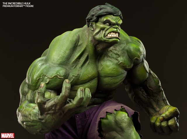 The Incredible Hulk Premium Format Figure Sideshow Collectibles 2014