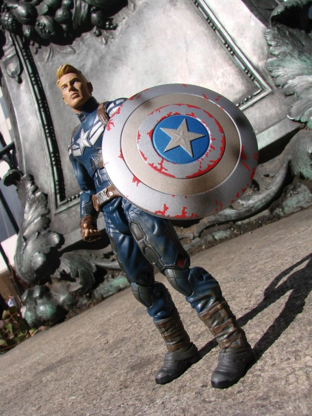 Winter Soldier Marvel Select Captain America Unmasked Figure
