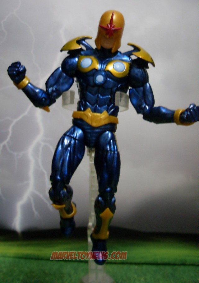 2014 Marvel Legends Modern Nova Guardians of the Galaxy Figure
