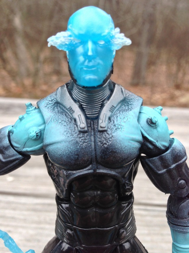 Amazing Spider-Man 2 Electro Marvel Legends Close-Up