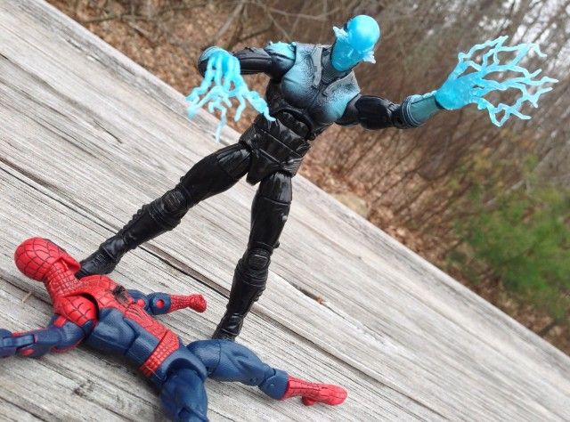 Hasbro Marvel Legends 2014 Electro Kills Spider-Man
