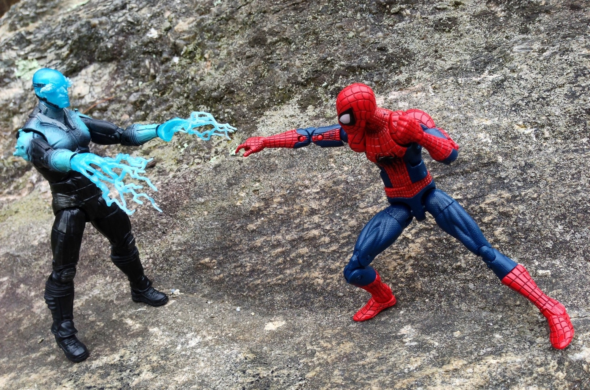 New Spider Man 2 Toys : Amazing spider man marvel legends electro review