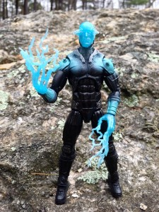 "Electro Marvel Legends Amazing Spider-Man 2 6"" Figure Using Powers"