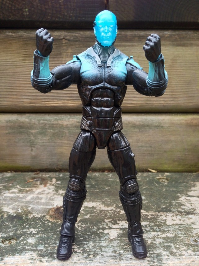 "Hasbro 6"" Marvel Legends Electro Action Figure with Fists"