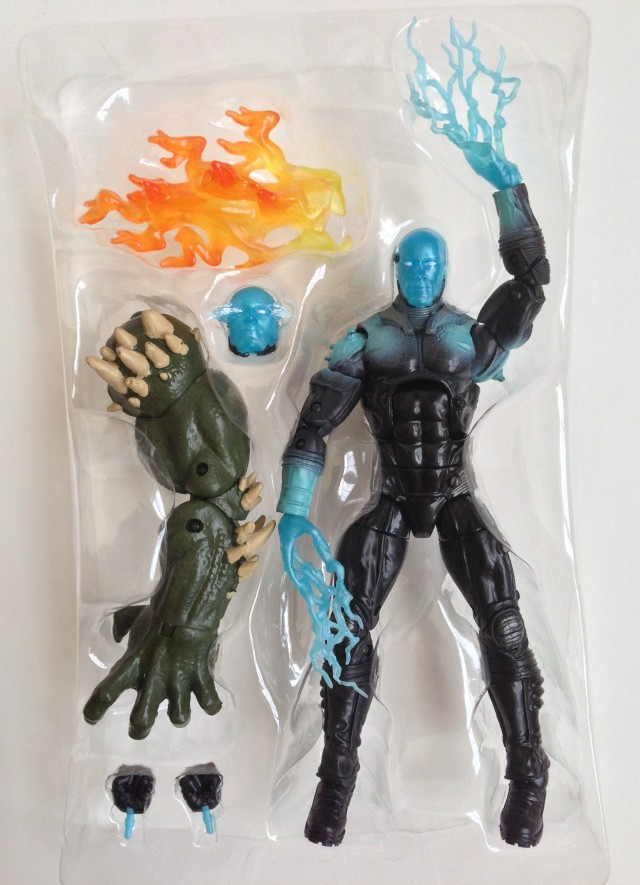Marvel Legends Electro Movie Figure in Packaging with Accessories