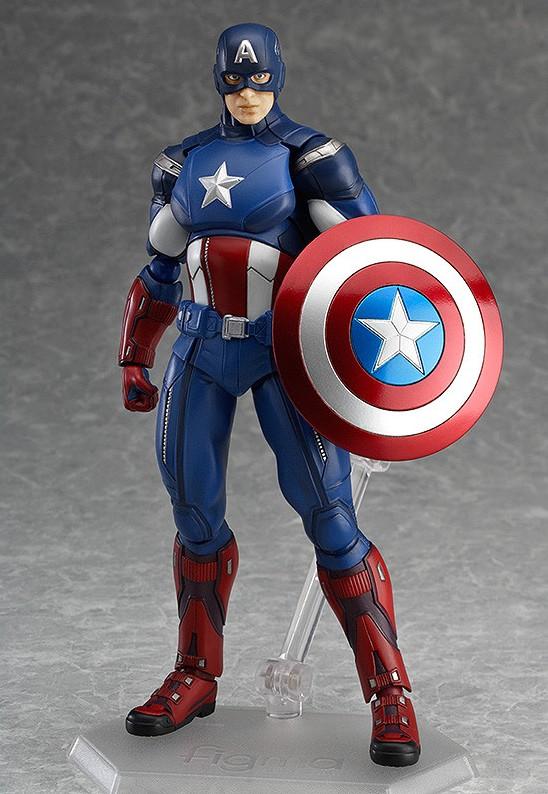 Avengers Figma Captain America Action Figure