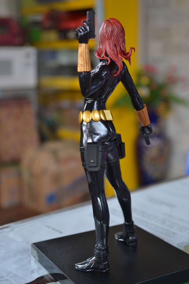 Back View of Marvel NOW! Black Widow Kotobukiya Statue