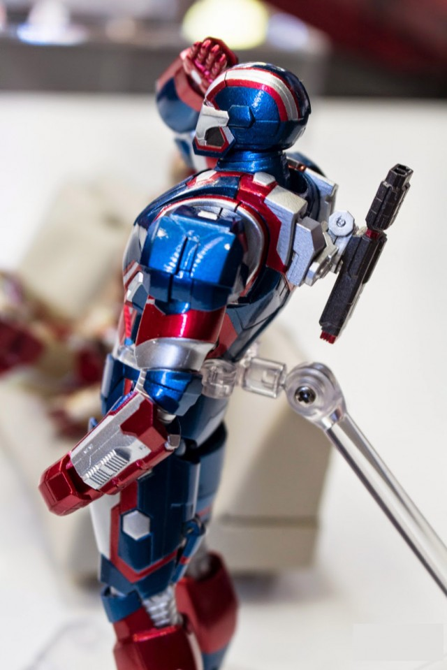 Bandai S.H. Figuarts Iron Patriot Figure Bandai Tamashii Nations Summer Collection 2014