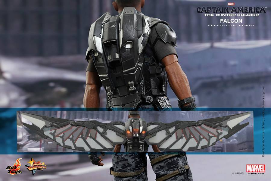 Hot Toys Falcon Figure Fully Revealed - 66.7KB