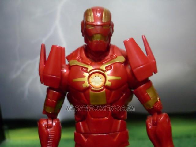 Cosmic Iron Man Marvel Legends Figure Close-Up