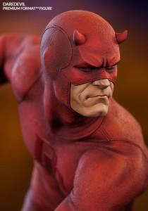 Daredevil Premium Format Figure Statue Close-Up of Portrait