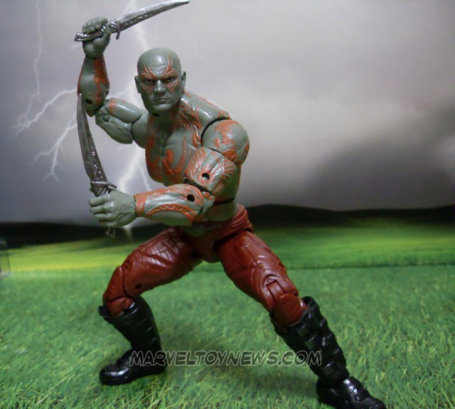 Drax Marvel Legends Guardians of the Galaxy Figure Prototype