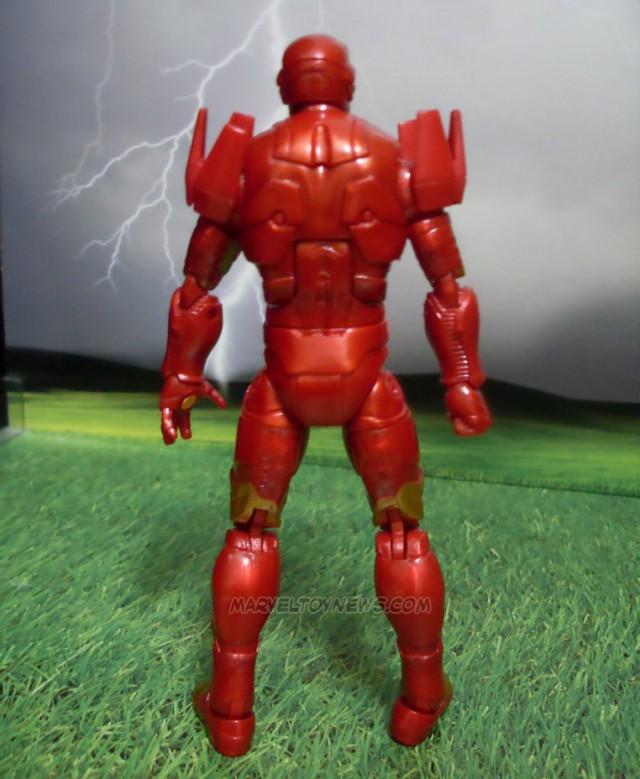 GOTG Marvel Legends Iron Man Figure Back Hasbro 2014