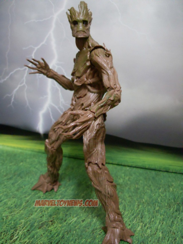 Guardians of the Galaxy Groot Build-A-Figure Marvel Legends Infinite Series