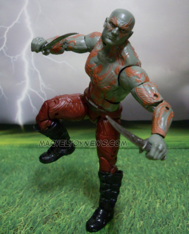 Guardians of the Galaxy Marvel Legends Drax Figure Prototype